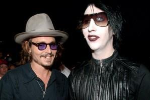 Johnny Depp e Marilyn Manson